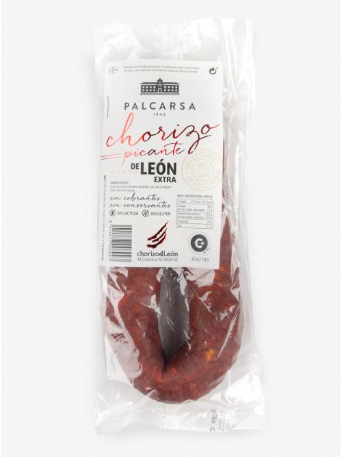 Chorizo de León Picante [Sarta] 450 g.